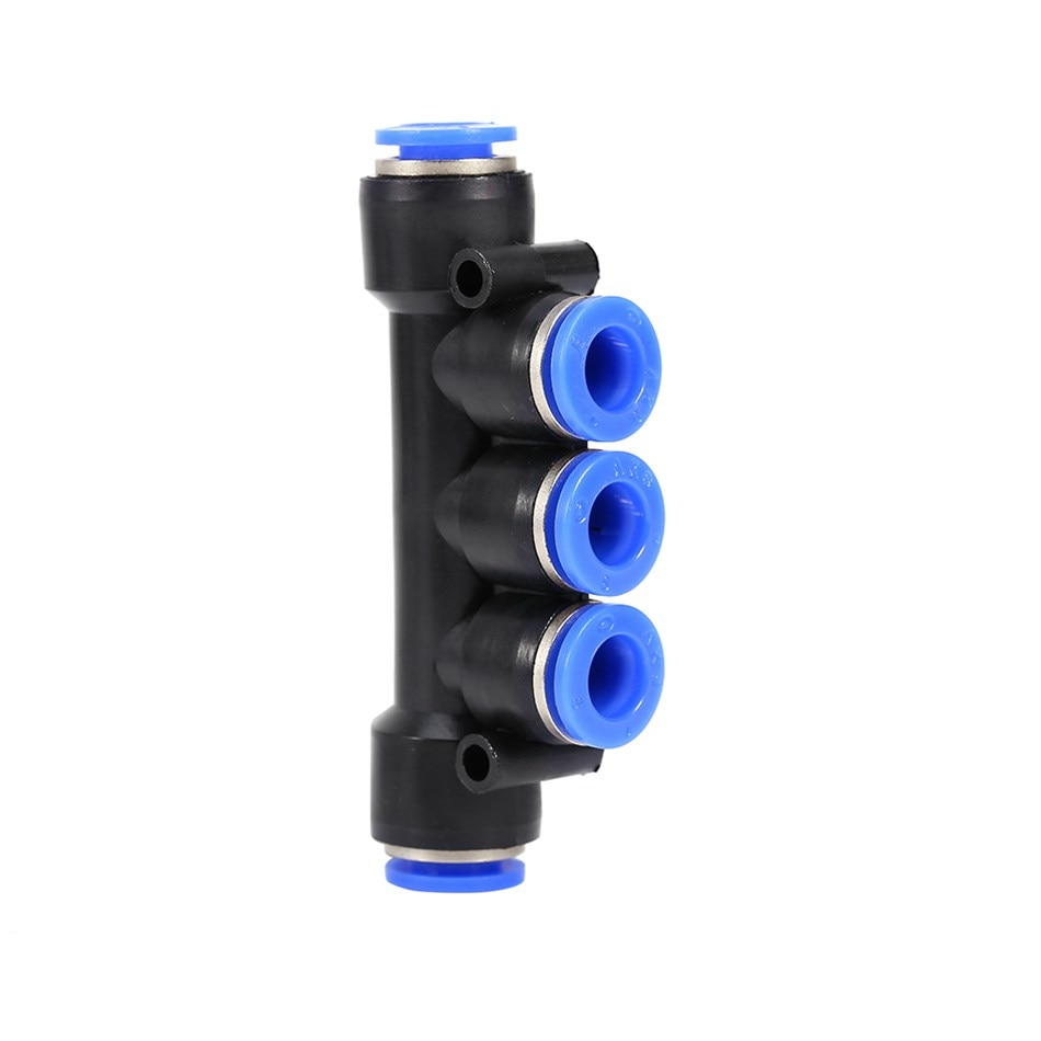 Conector Multiplu 5 in/out , egal ,6mm , TUB-TUB